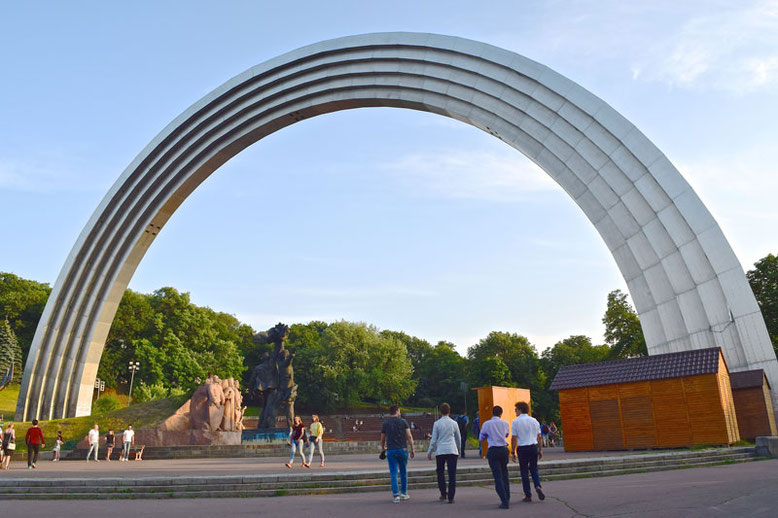 Things I've Done in Kiev - Friendship of Nations Arch