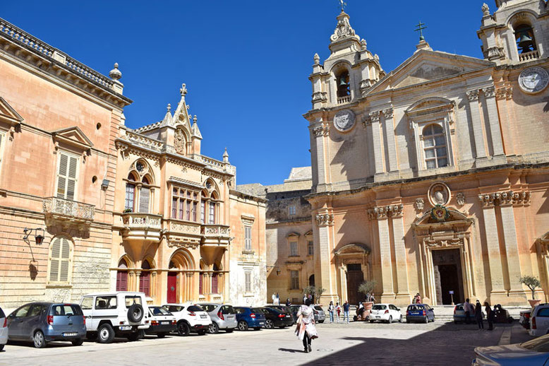 3 Days in Malta - Winter Break - Mdina