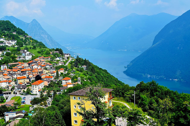 Switzerland Vacation Spots - Village Bre in Ticino
