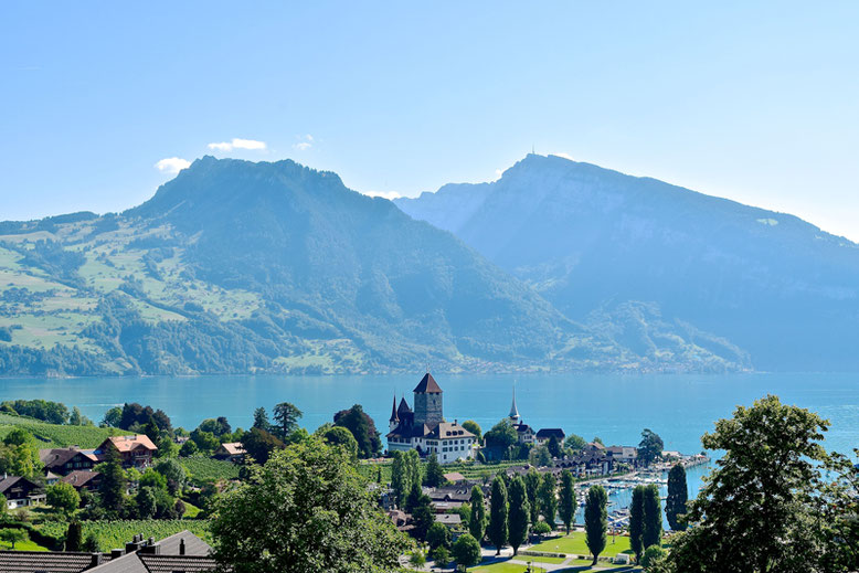 The Most Beautiful Castles in Switzerland - the Spiez Castle