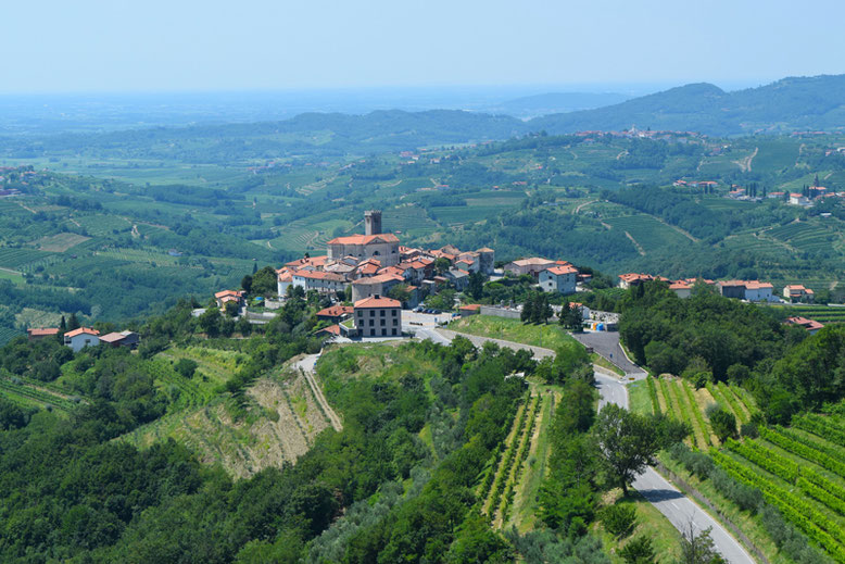 7 Tage in Slowenien, Reiseplan - Goriska Brda