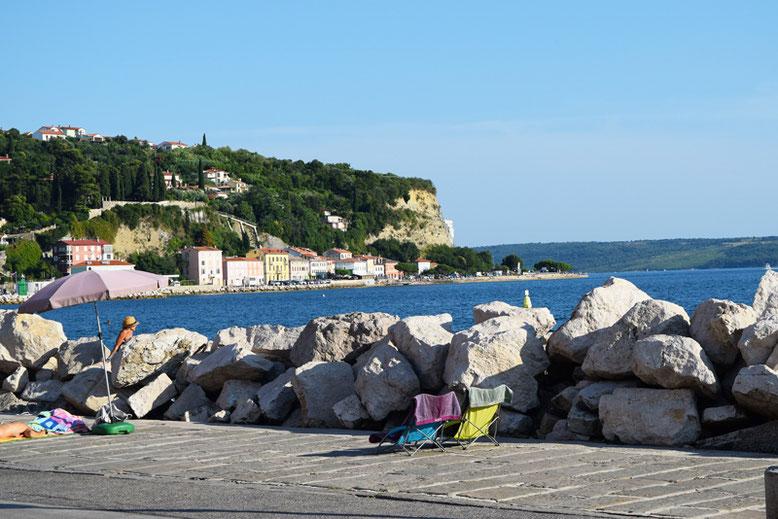 7 Tage in Slowenien, Reiseplan - Piran