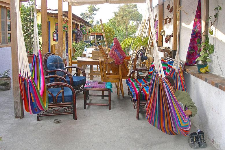 A Lovely Week in Guatemala - Our Hostel in Antigua