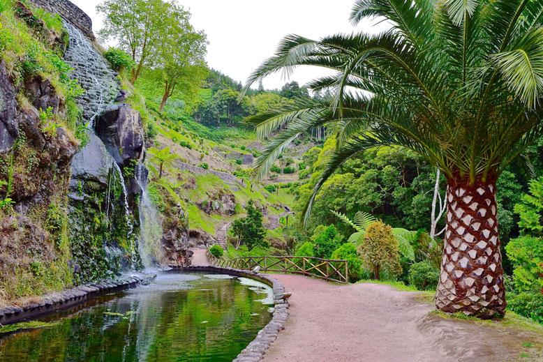 7 Tage Reiseplan - Sao Miguel, Azoren - Parque Natural da Ribeira dos Caldeirões