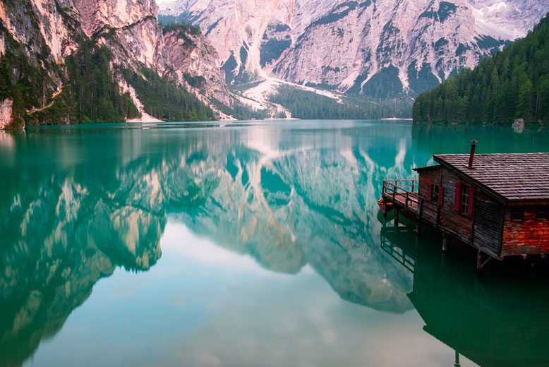 Most Beautiful Lakes in Europe - 10 Astonishing Lakes You Must See in Europe - Lake Braies, Italy