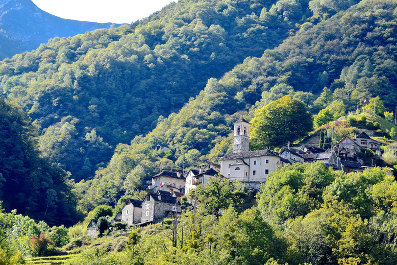 What to Do in Ticino - Village of Corippo near the Verzasca River