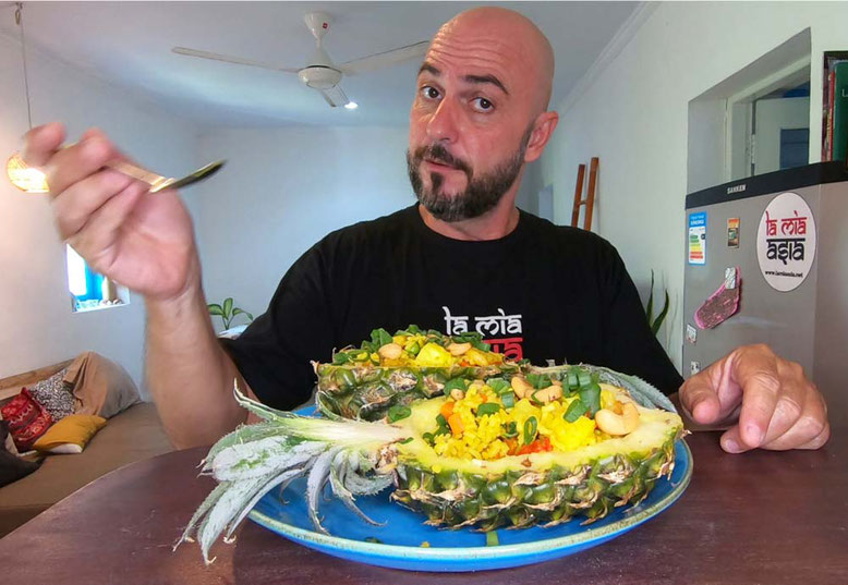 Ricetta Thai riso saltato all'ananas
