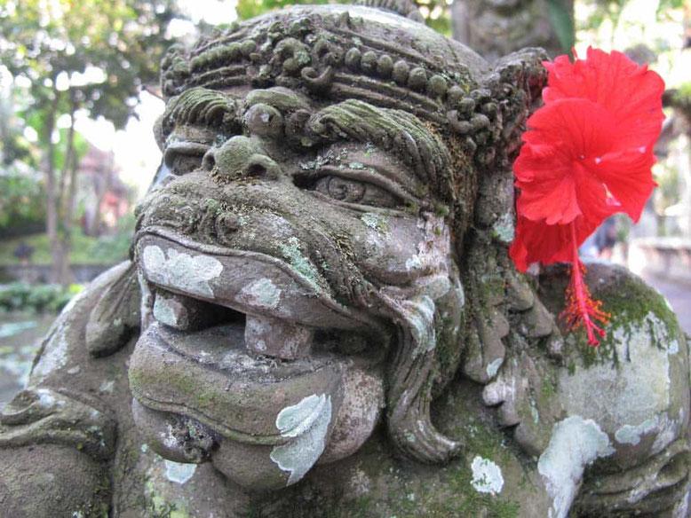 Scultura balinese a Ubud Bali