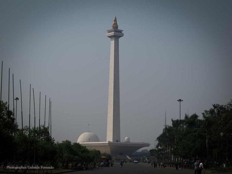 Monas - il monumento simbolo di Jakarta