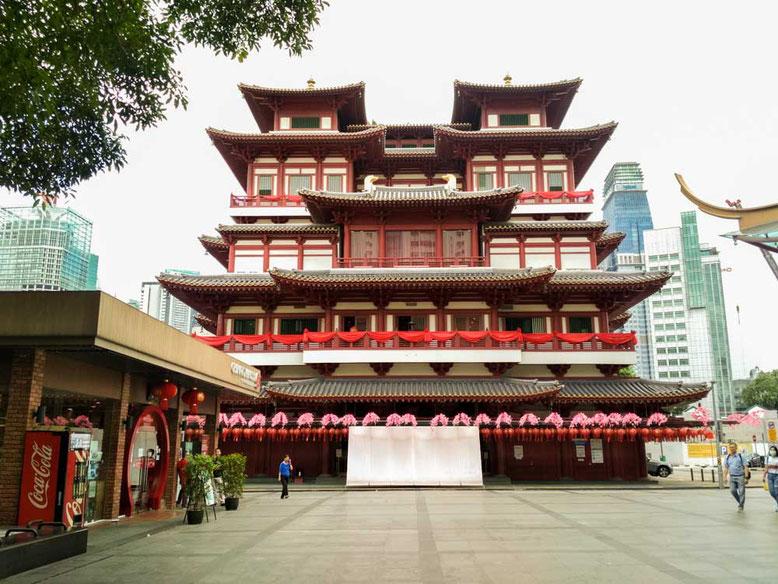 Il Buddha Thoot Relic Temple a Singapore (photo by Gabriele Ferrando)