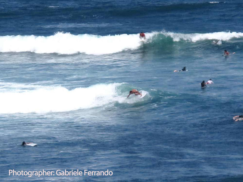Surfers in Balian Beach - Bali (Photo by: Gabriele Ferrando)