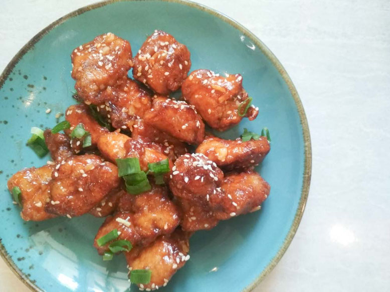 Ricetta cinese pollo al miele in agrodolce