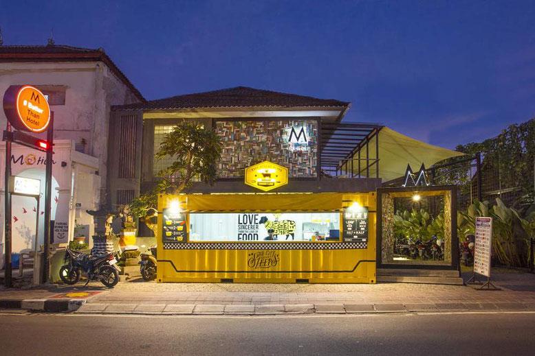 I migliori ostelli a Bali. M Boutique Hostel seminyak
