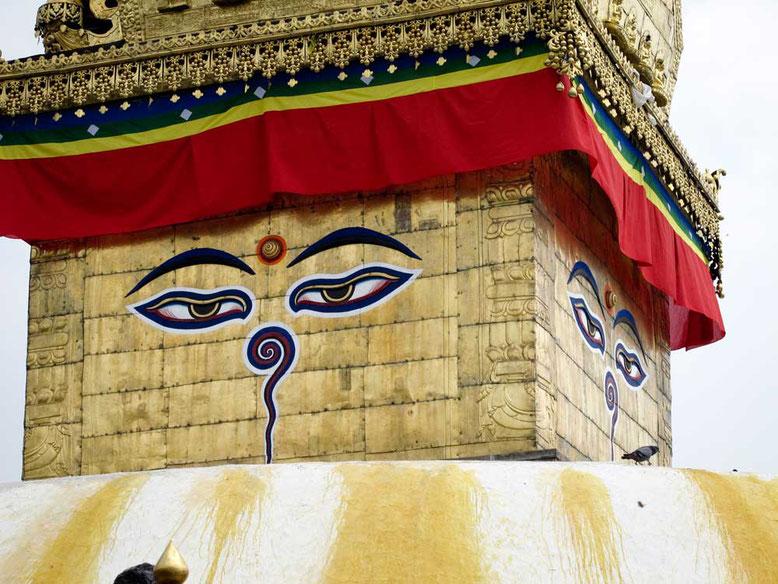 Swayambhunath Temple, Kathmandu - NEPAL