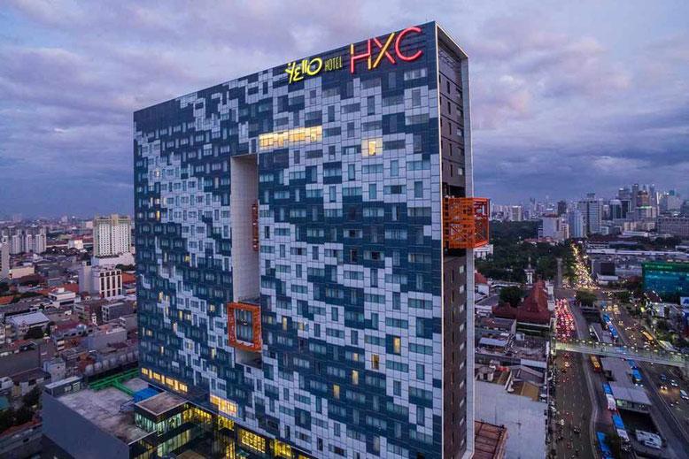 Jakarta i migliori Hotel a meno di 50 euro a notte. Yello Hotel Harmoni