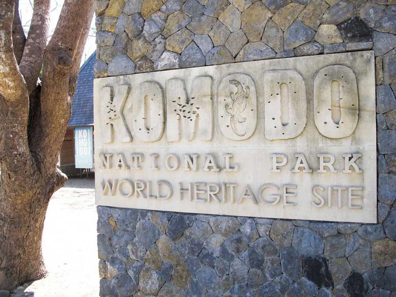 Komodo: l'isola dei draghi. Ingresso al parco