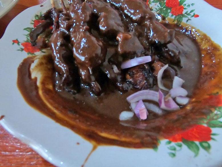 Bali Street Food - Cosa Mangiare. Sate Ayam