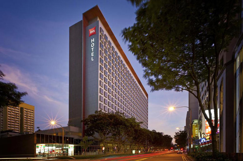 Singapore: i migliori Hotel in centro a prezzi accessibili. Ibis on Bencoolen Singapore