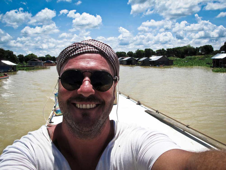Slow Boat da Battambang a Siem Reap. Gabo