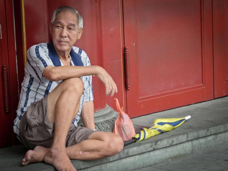 Il mendicante cinese di Singapore