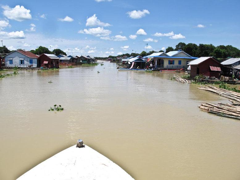Slow Boat da Battambang a Siem Reap