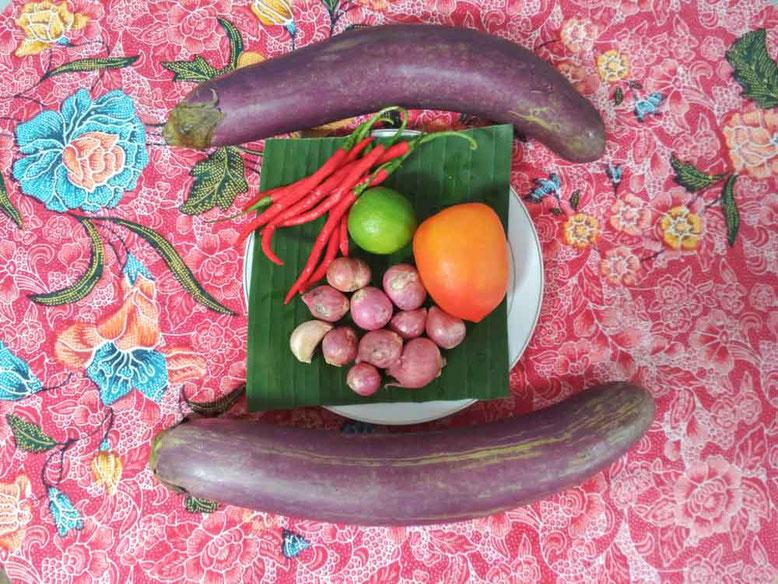 Ricetta Terong Balado. Ingredienti