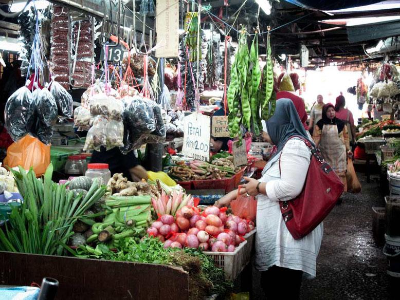 Kuala Lumpur cosa vedere in 3 giorni. Mercato tradizionale di Chow Kit