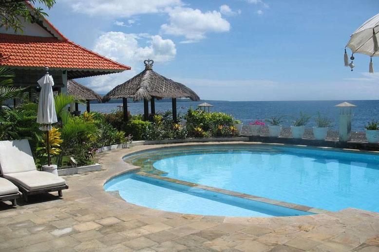Bali i migliori Hotel a meno di 50 Euro a notte - Kembali Beach Bungalows Amed