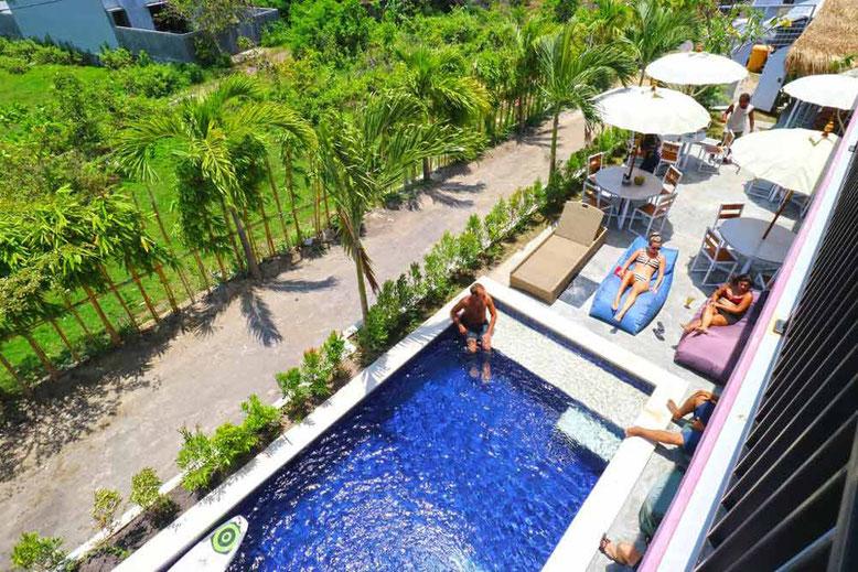 I migliori ostelli a Bali. Margarita Surf Hostel Canggu
