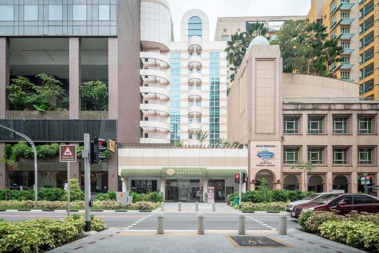 Singapore: i migliori Hotel in centro a prezzi accessibili. Hotel Bencoolen Singapore