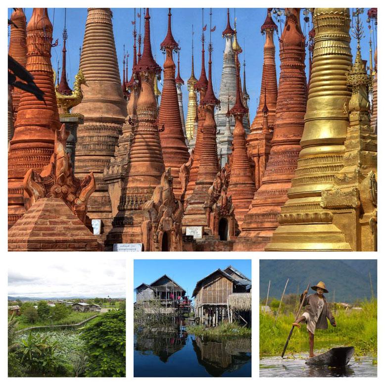 Viaggio di gruppo in Birmania - Collage 6