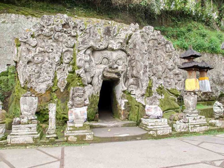 Goa Gajah, le Grotte dell'elefante a Ubud Bali