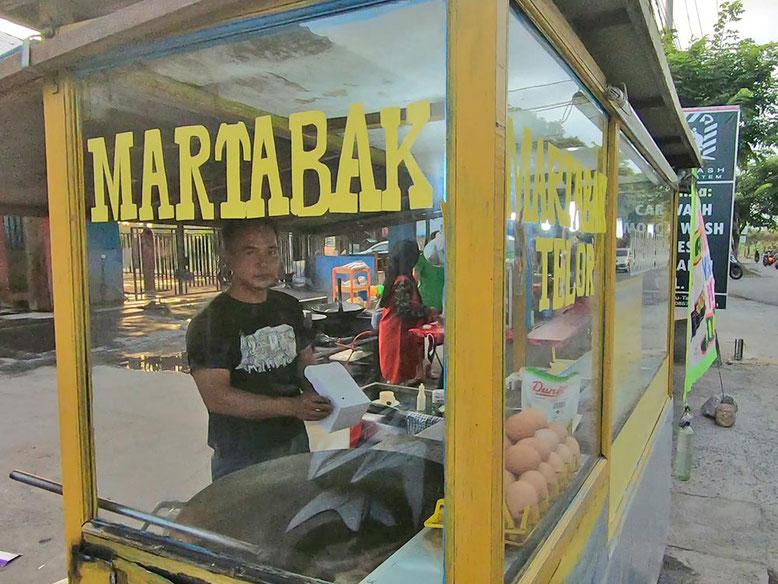 Bali Street Food - Cosa Mangiare. Martabak