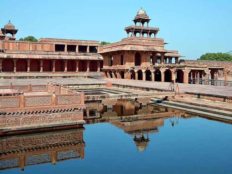 Agra. Fatehpur Sikri