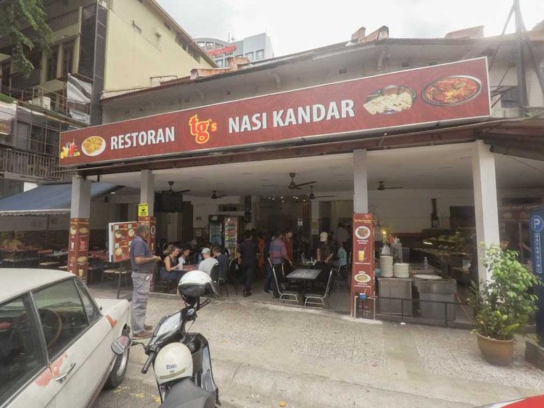 Dove mangiare a Kuala Lumpur. TG'S Nasi Kandar