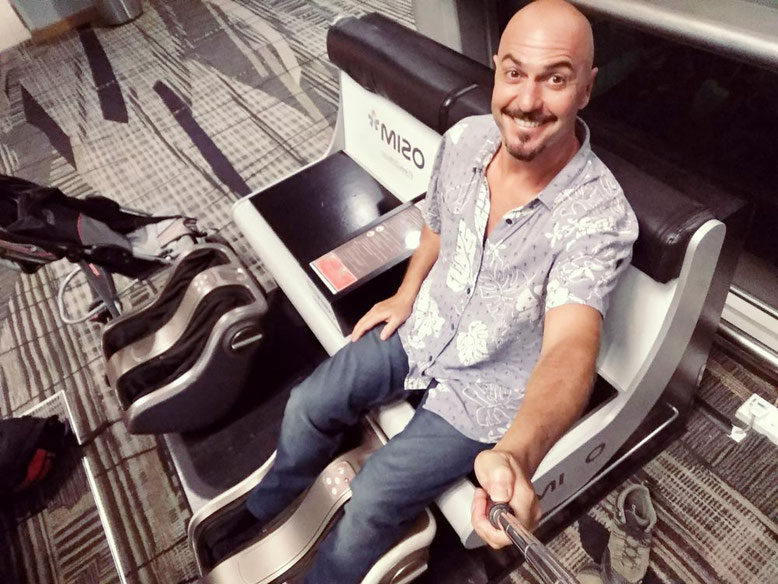 Aeroporto di Singapore: 6 cose da fare Gratis. Massaggio ai piedi