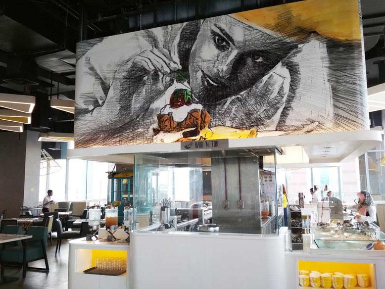 Yello Hotel Harmoni Jakarta - Restaurant and Breakfast area