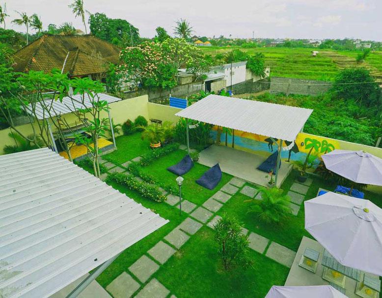 I migliori ostelli a Bali. Inn Calm Hostel Canggu