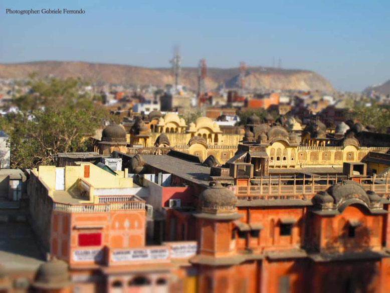 Jaipur. Panorama