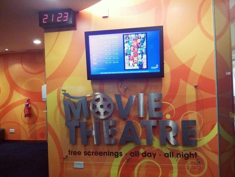 Aeroporto di Singapore: 6 cose da fare Gratis. Cinema