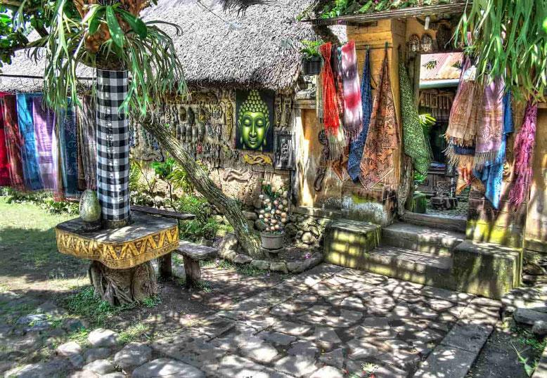 Souvenirs e shopping a Bali