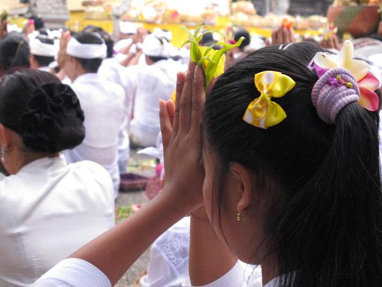 Cerimonia a Ubud Bali
