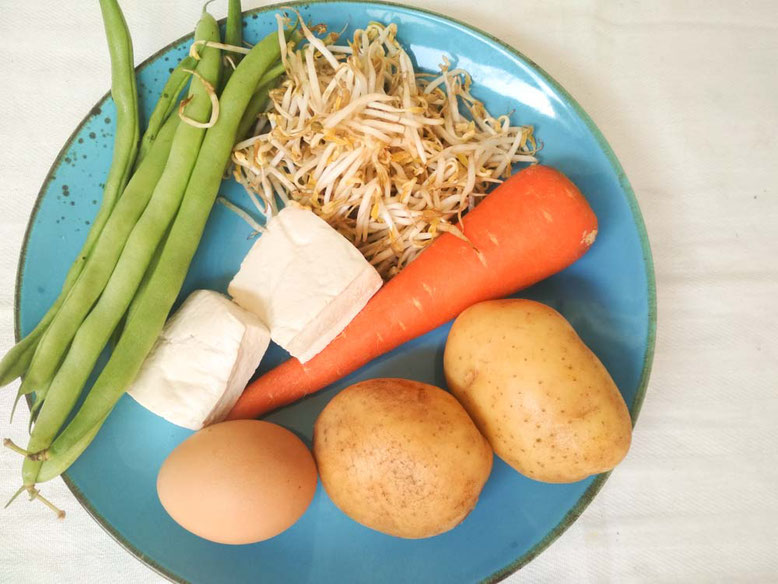 Ricetta Gado Gado. Ingredienti