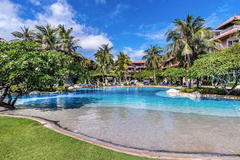 BALI HOTEL DI LUSSO A MENO DI 100 EURO A NOTTE - Hotel Nikko Bali Benoa Beach