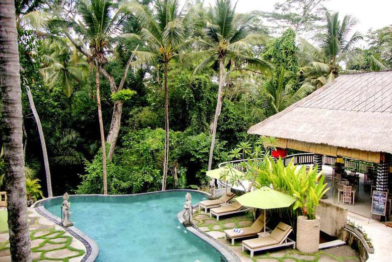 BALI HOTEL DI LUSSO A MENO DI 100 EURO A NOTTE - Atta Mesari Resort Ubud