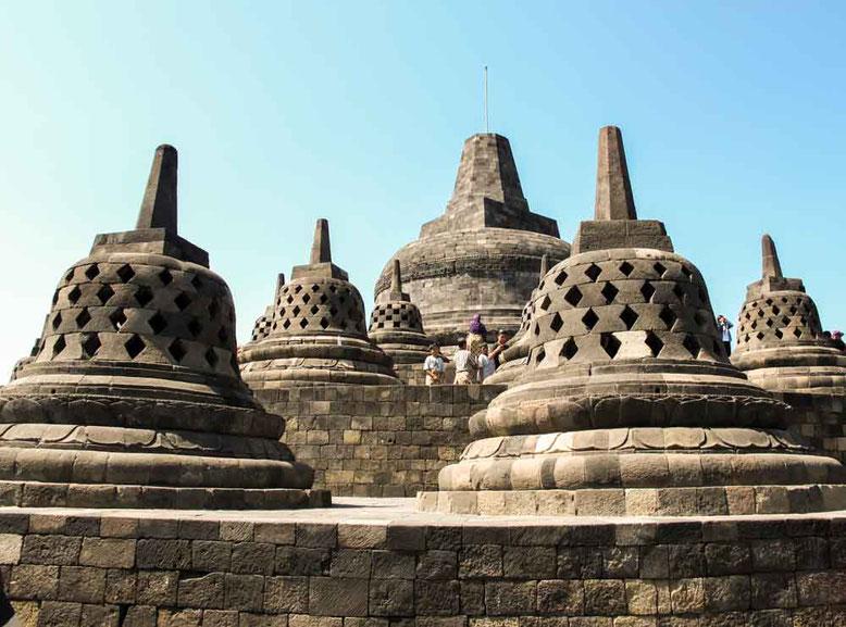 Yogyakarta - Tempio di Borobudur