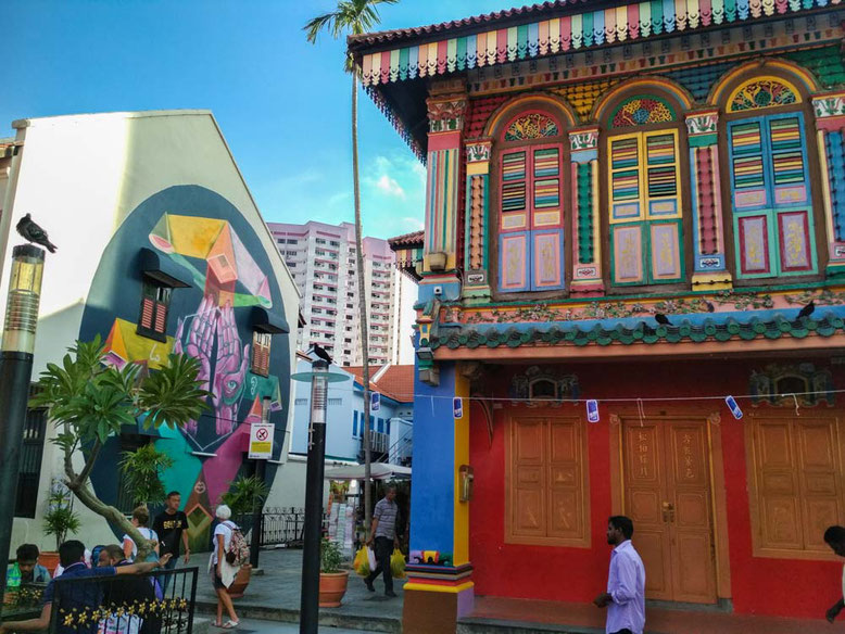 Singapore Little India. House of Tan Teng Niah