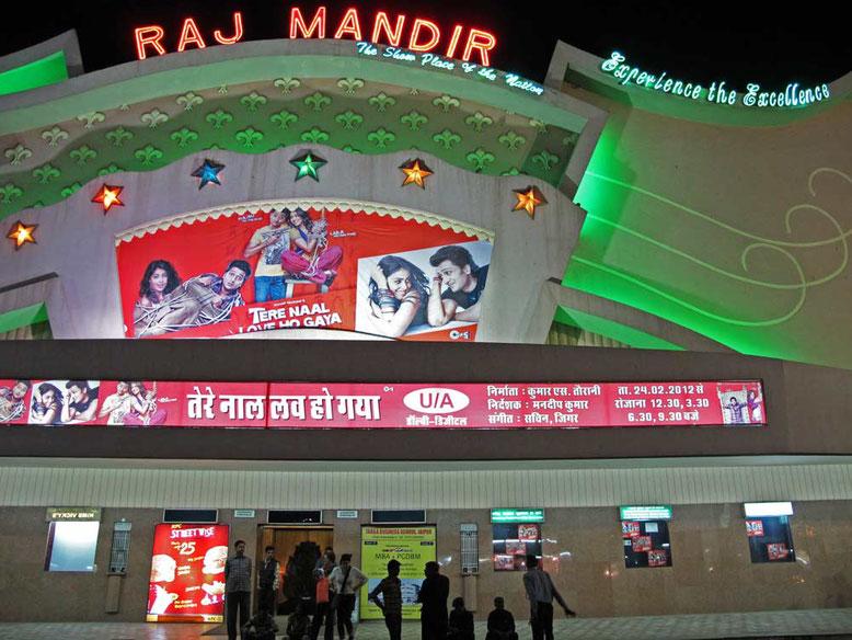 Jaipur. Cinema Raj Mandir