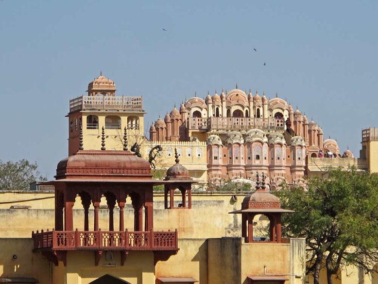 Jaipur. Hawa Mahal