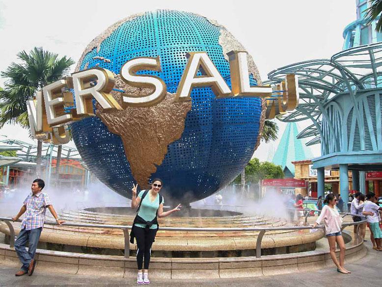 Singapore. Sentosa. Universal Studio Singapore